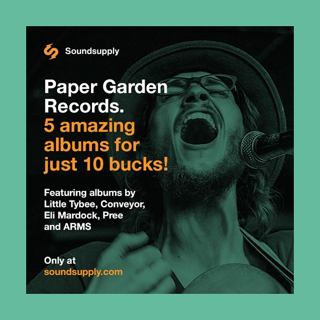 Get prepared for #RecordStoreDay with a special bundle from @papergardenrecs!  5 amazing albums, available digitally, on vinyl, or bundled with a brand new record player! Check it out at www.soundsupply.com