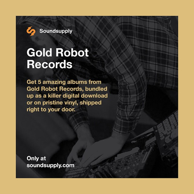 Want to win a #free download of the Gold Robot Label Bundle? Of course you do! Here's how to enter: 1. Follow @soundsupply & @goldrobot on Instagram 2. Repost the above image with the tag #Soundsupply That's it! We'll choose winners this weekend. Thanks!